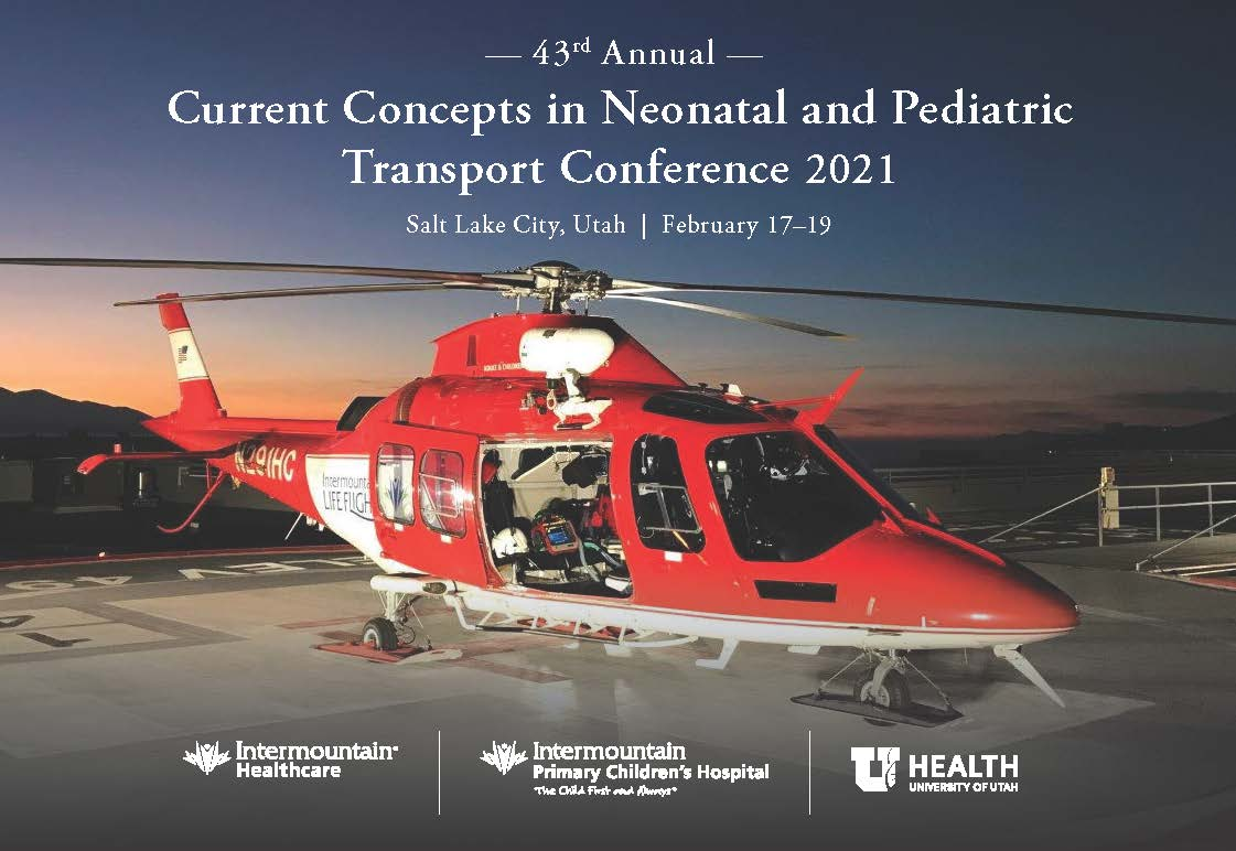 43rd Annual Current Concepts in Neonatal and Pediatric Transport Banner